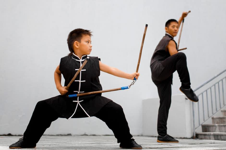 Kung Fu: Arte marcial para a família