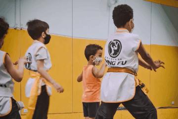 Saiba como o Kung Fu ajuda na evolução das crianças